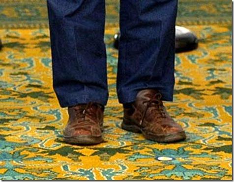le scarpe del presidente