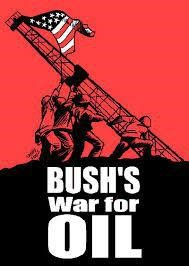 bush for oil