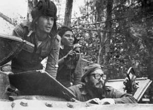 Fidel Castro alla guida delle operazioni militari