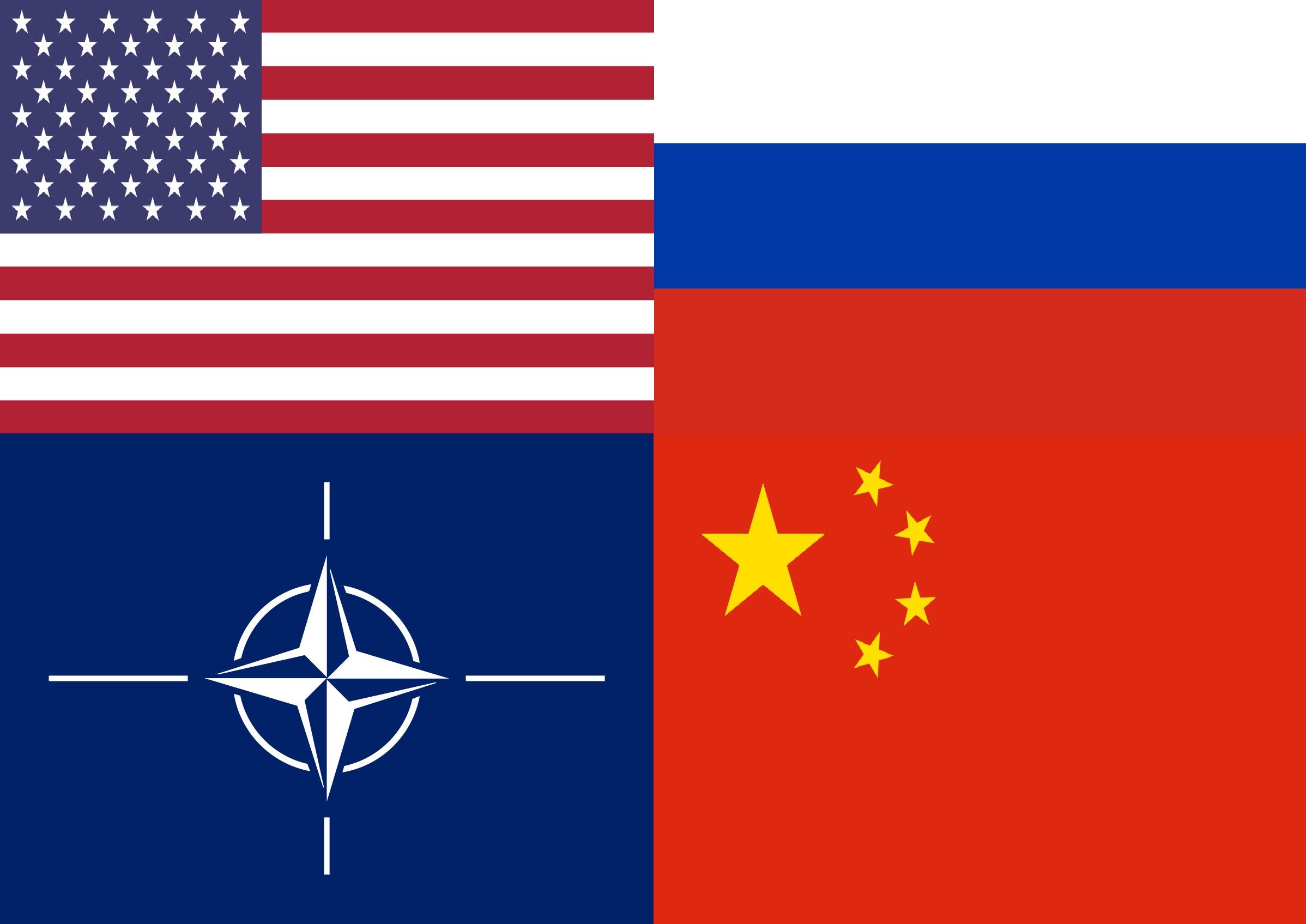 USA EE.UU. CHINA RUSIA OTAN